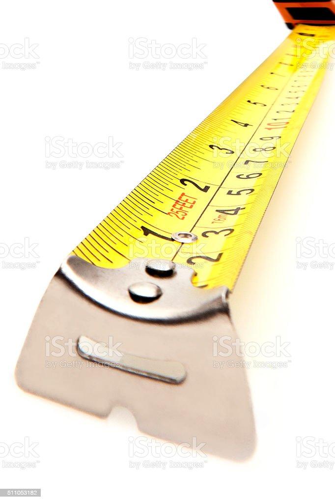 Tape measure. stock photo