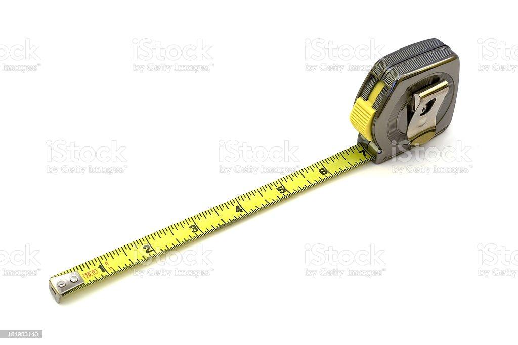 Tape Measure Tool stock photo