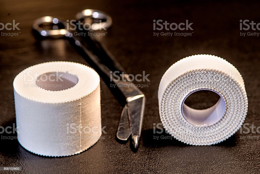 Tape, medical stock photo