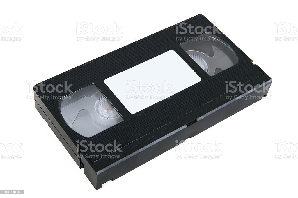 VHS Tape #3 stock photo