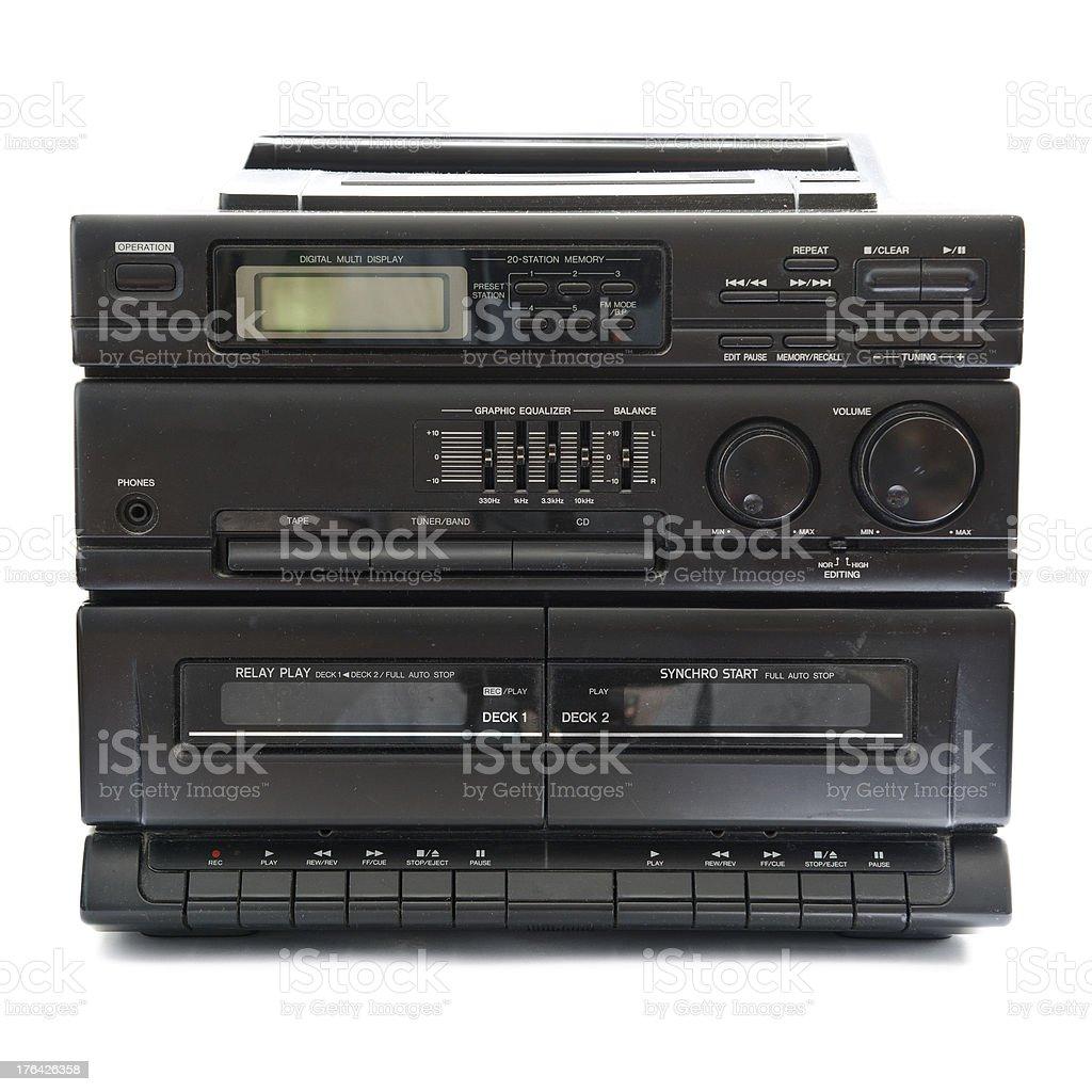 tape recorder stock photo