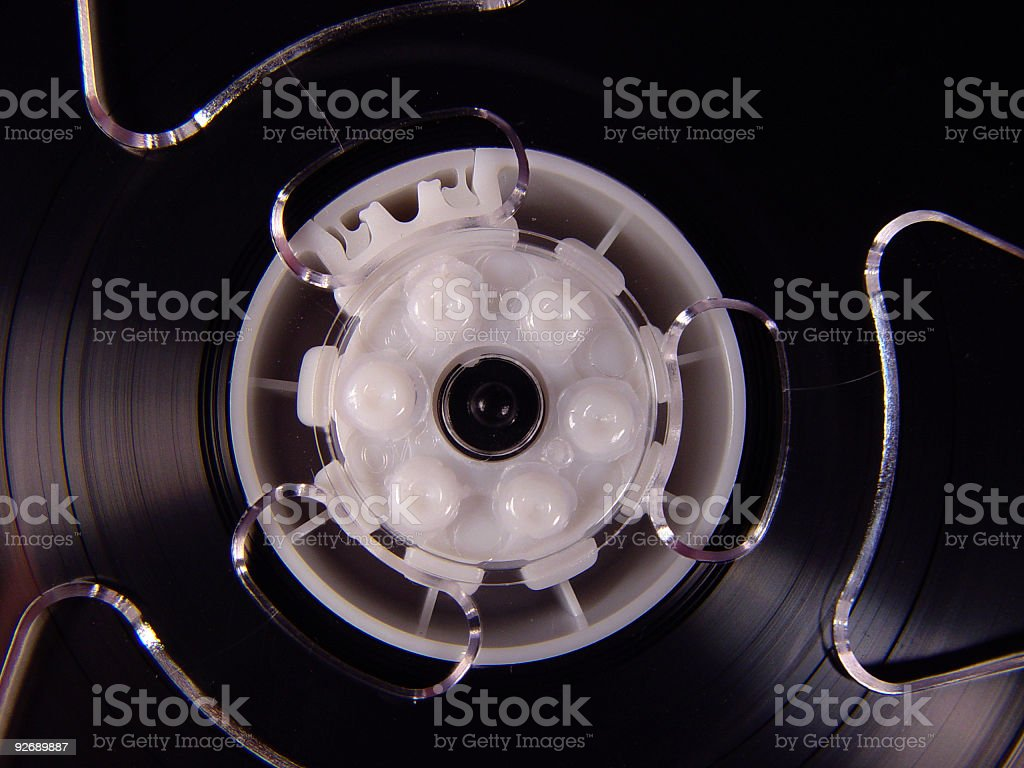Tape Reel royalty-free stock photo