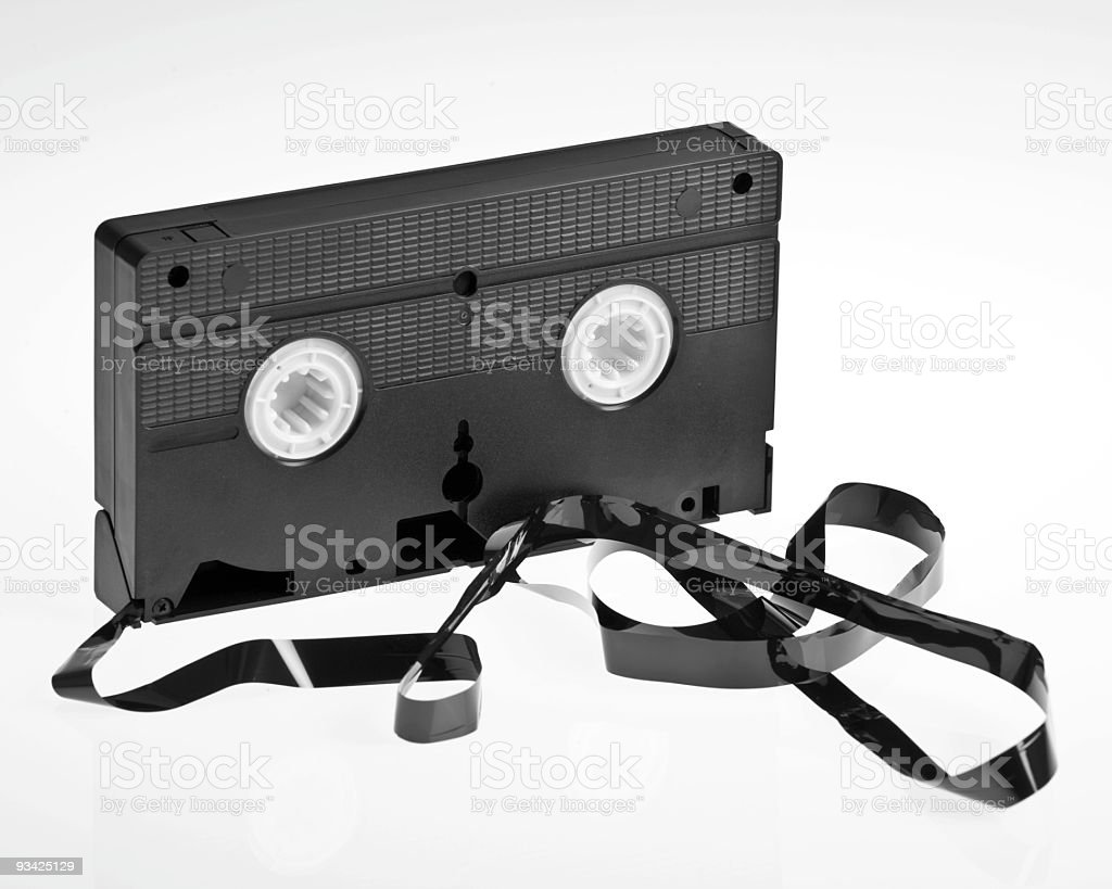 tape spaghetti royalty-free stock photo