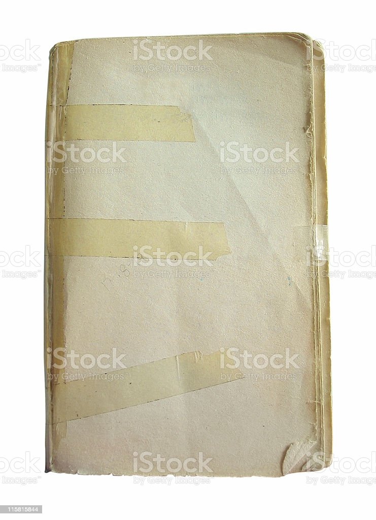 Taped book royalty-free stock photo