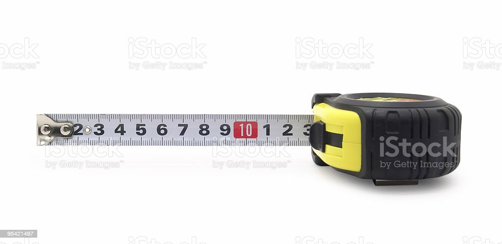 tape-measure royalty-free stock photo