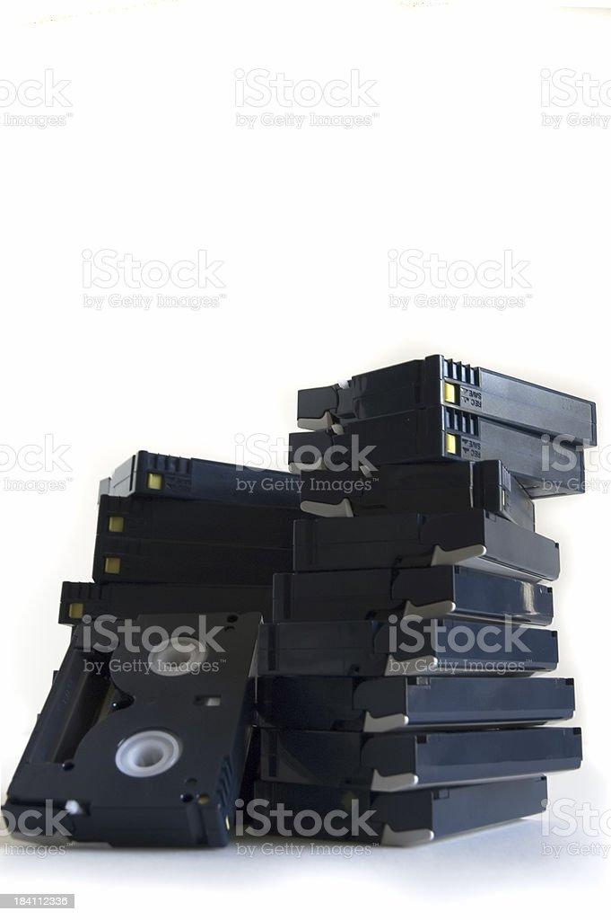 DV Tapes II stock photo
