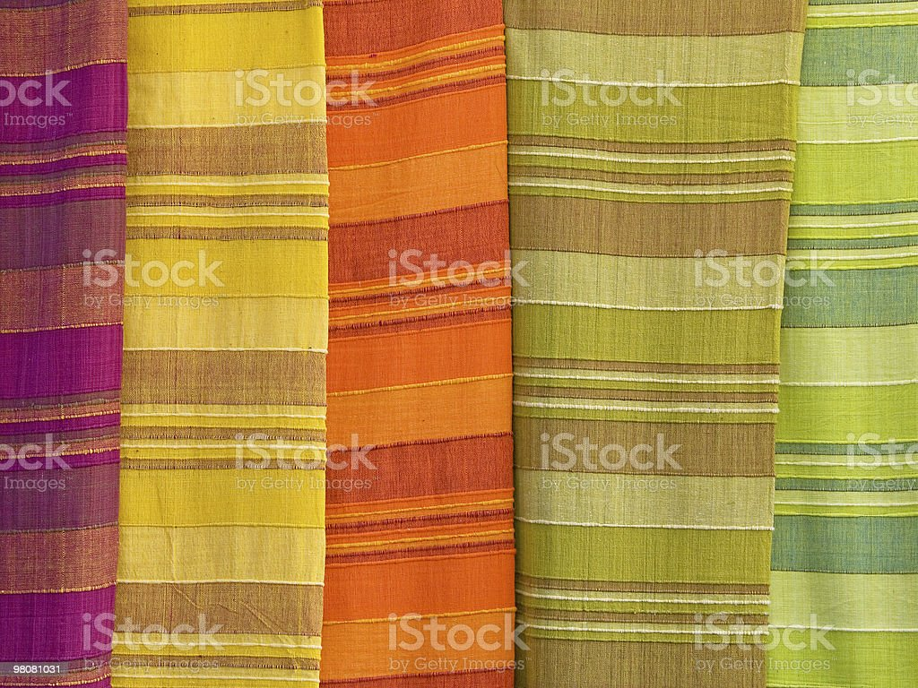 Tapestry in Rainbows stock photo