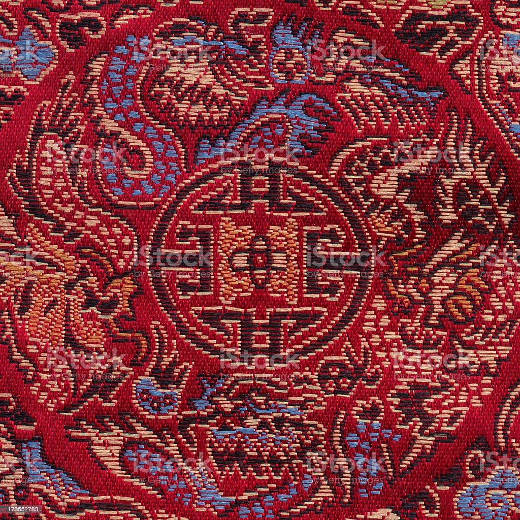 Tapestry (China) royalty-free stock photo