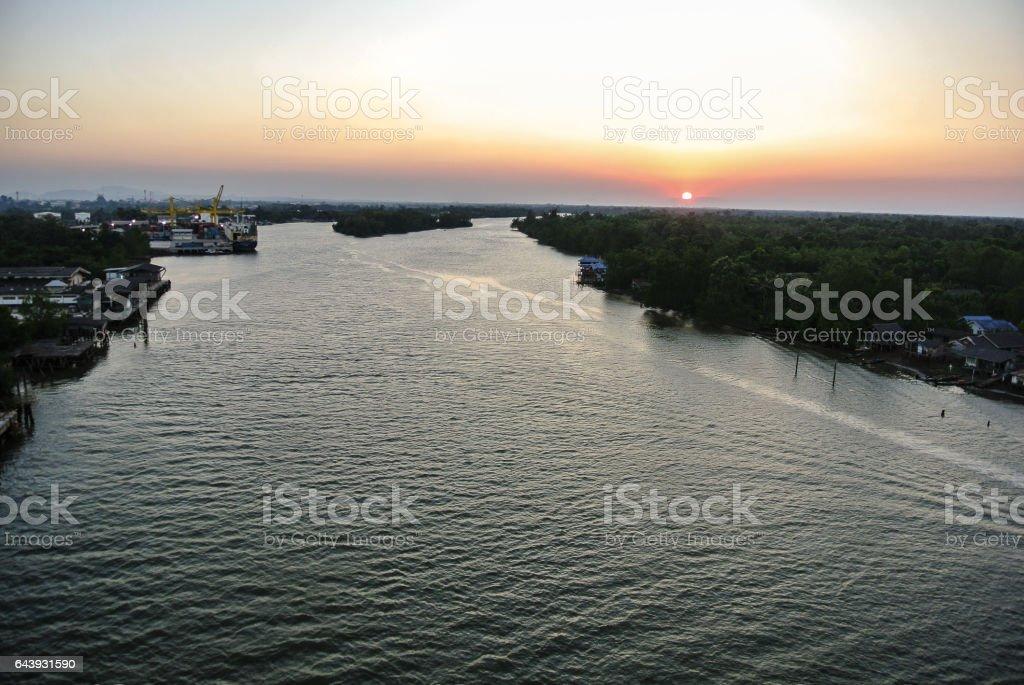 Tapi River stock photo