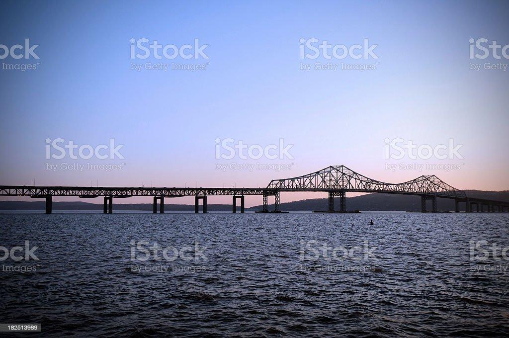 Tappan Zee Bridge royalty-free stock photo