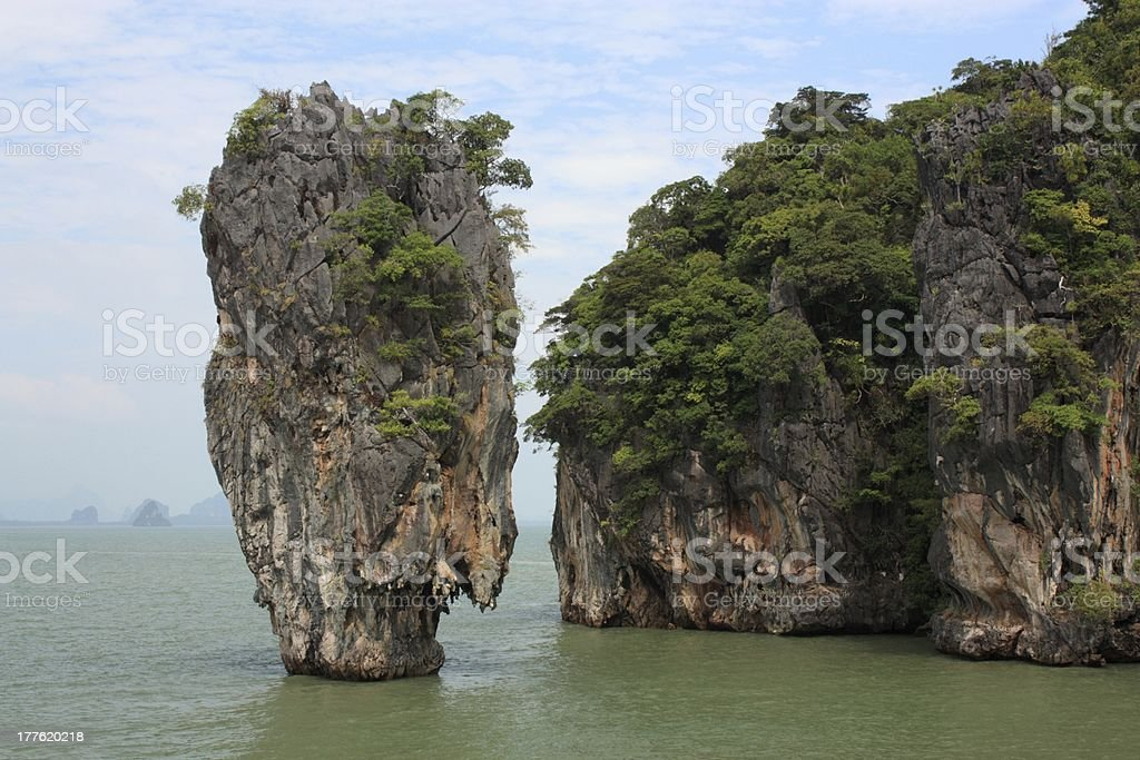 Tapu island royalty-free stock photo