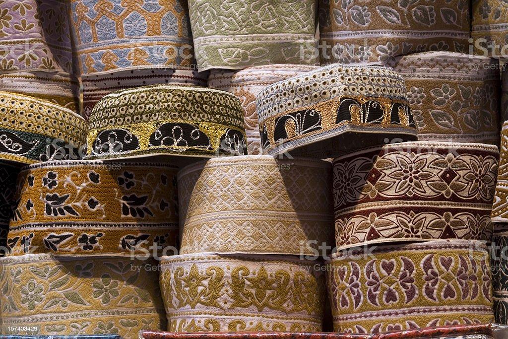 taqiyah or muslim cap royalty-free stock photo