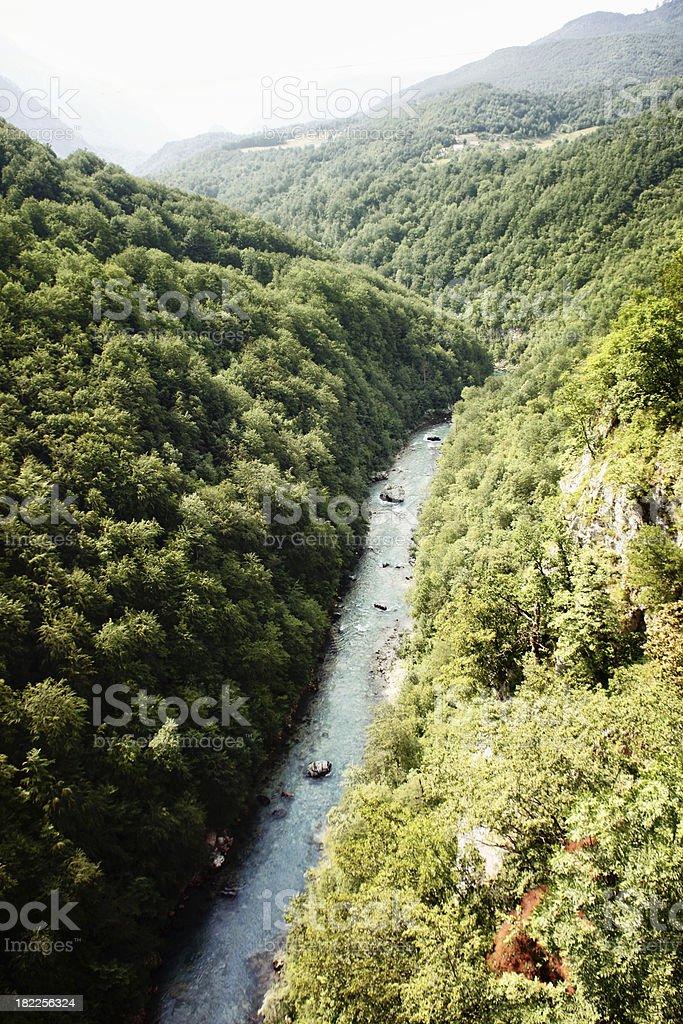 Tara river royalty-free stock photo