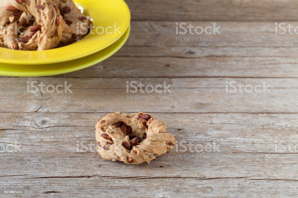 Taralli Cookies stock photo