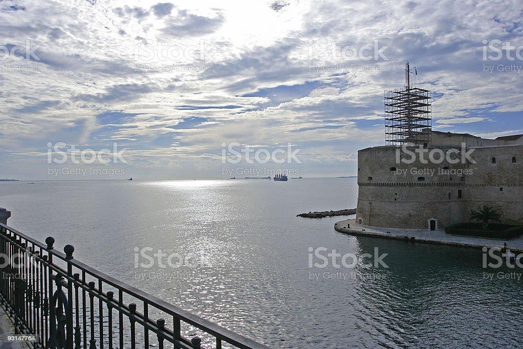 Taranto royalty-free stock photo