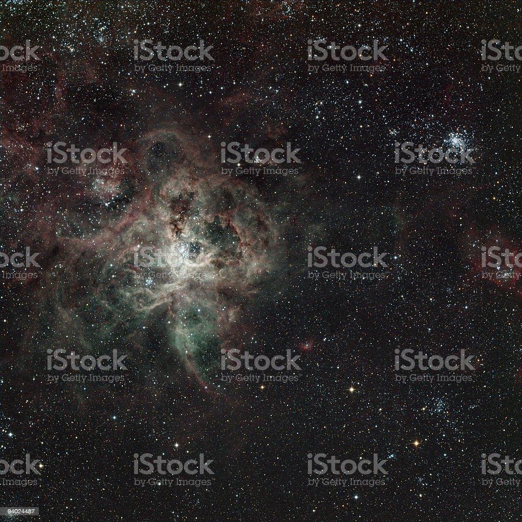 Tarantula nebula stock photo