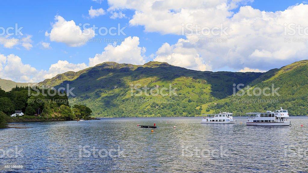 Tarbet Loch Lomond Écosse photo libre de droits