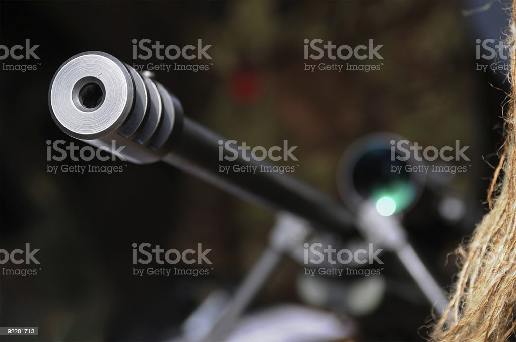 Target acquired stock photo