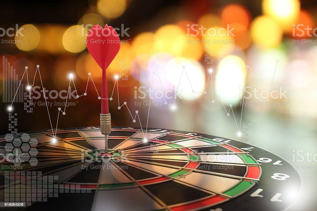 target arrow concept. stock photo