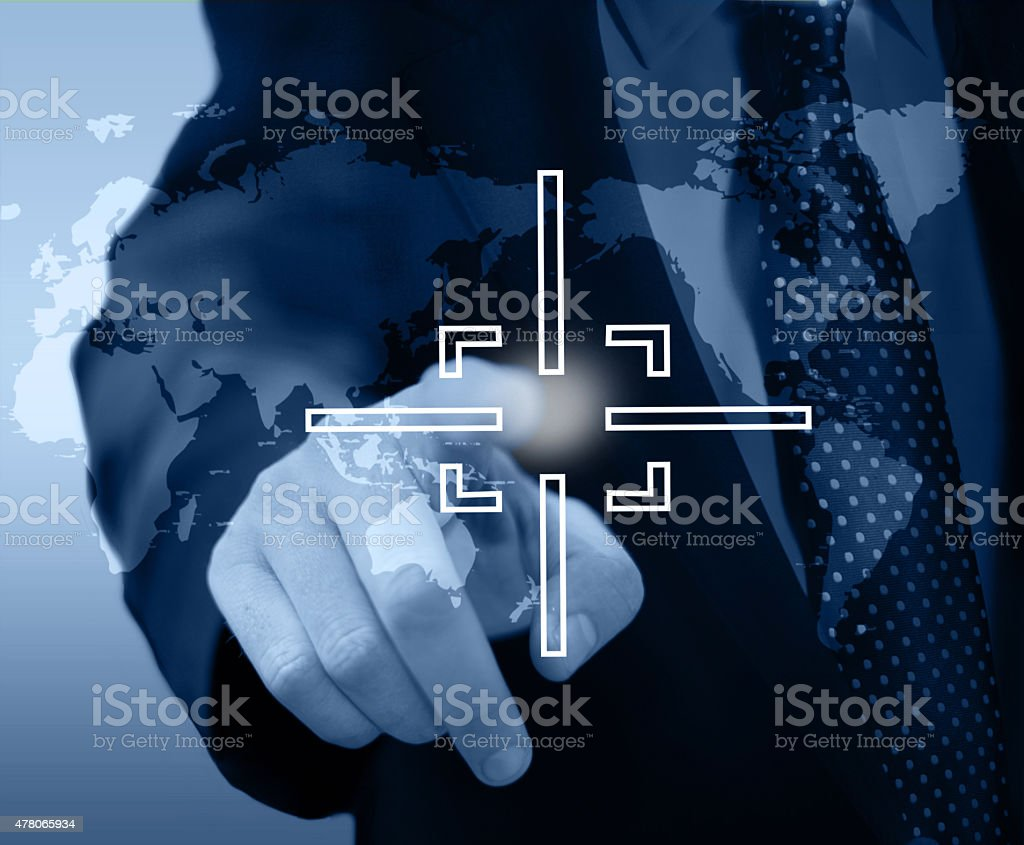 Target audience concept stock photo