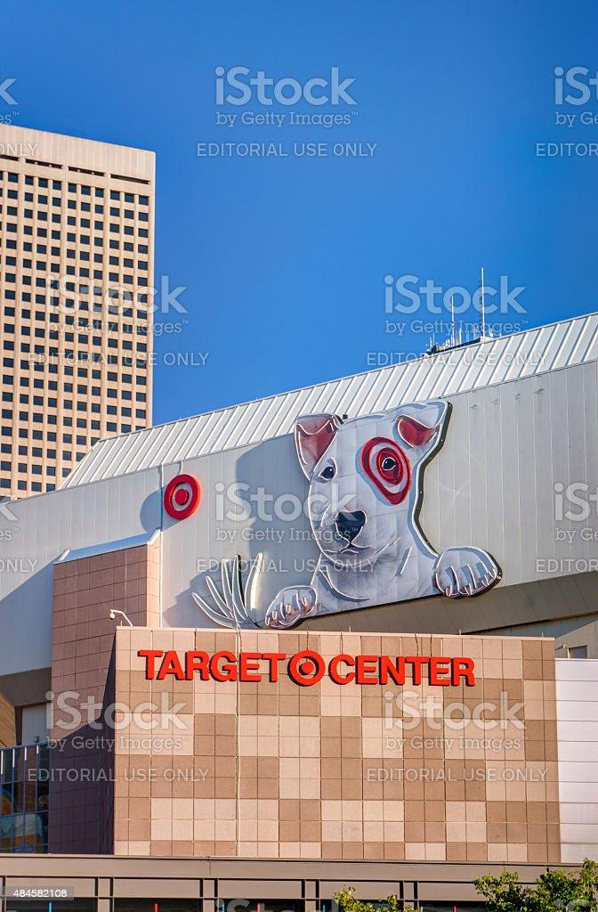 Target Center Exterior stock photo