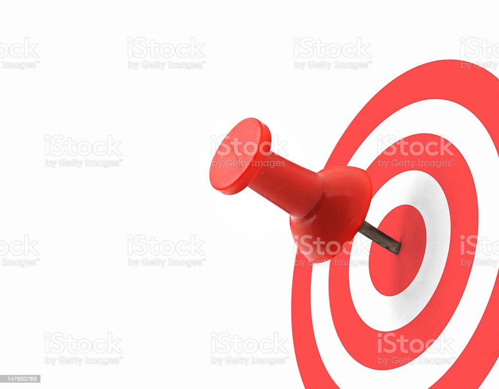target concept royalty-free stock photo