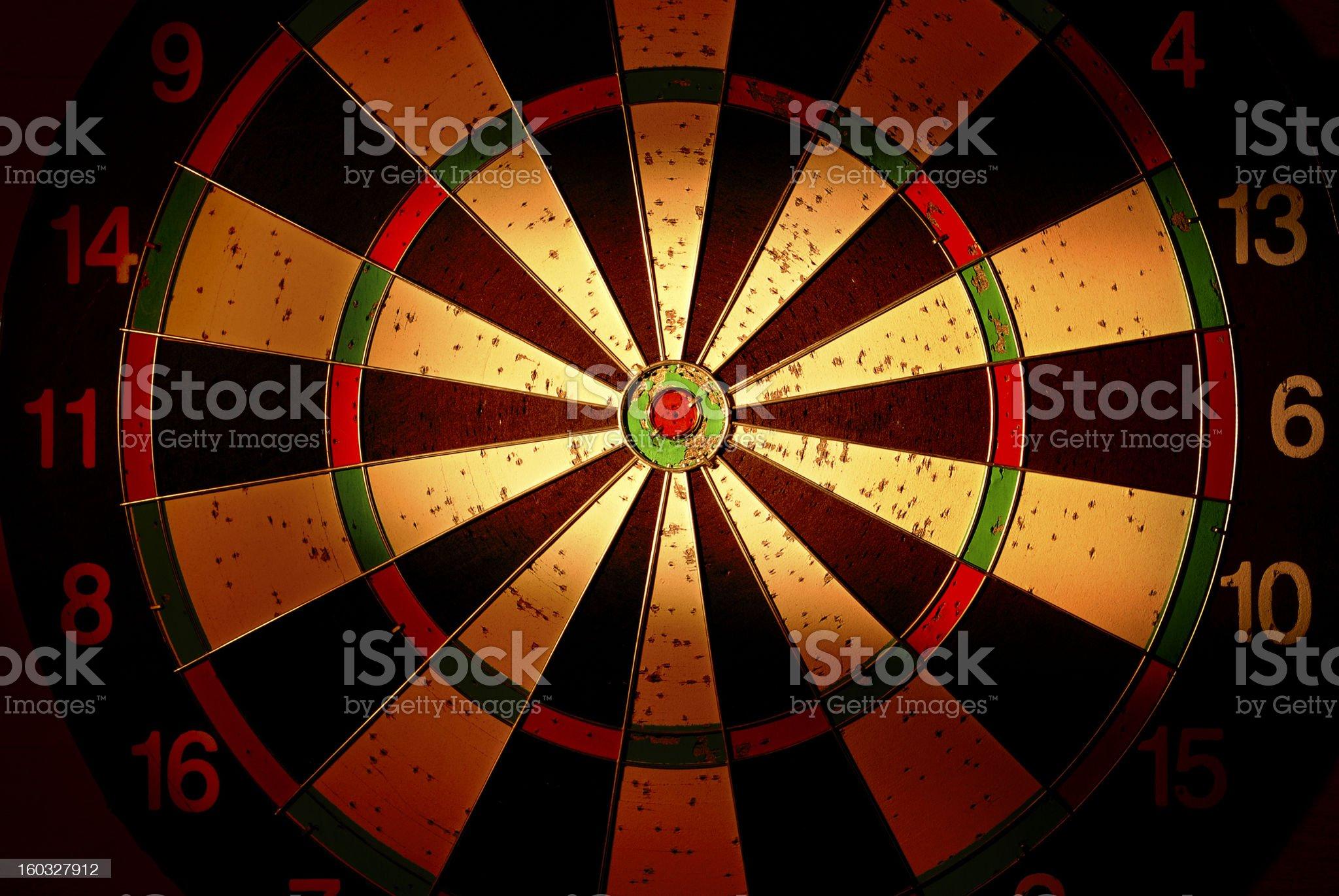 target dar royalty-free stock photo