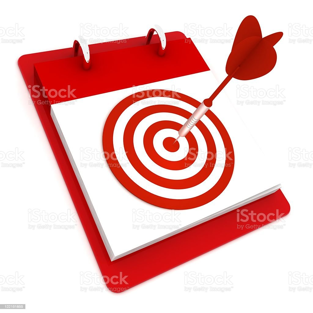 Target Day royalty-free stock photo