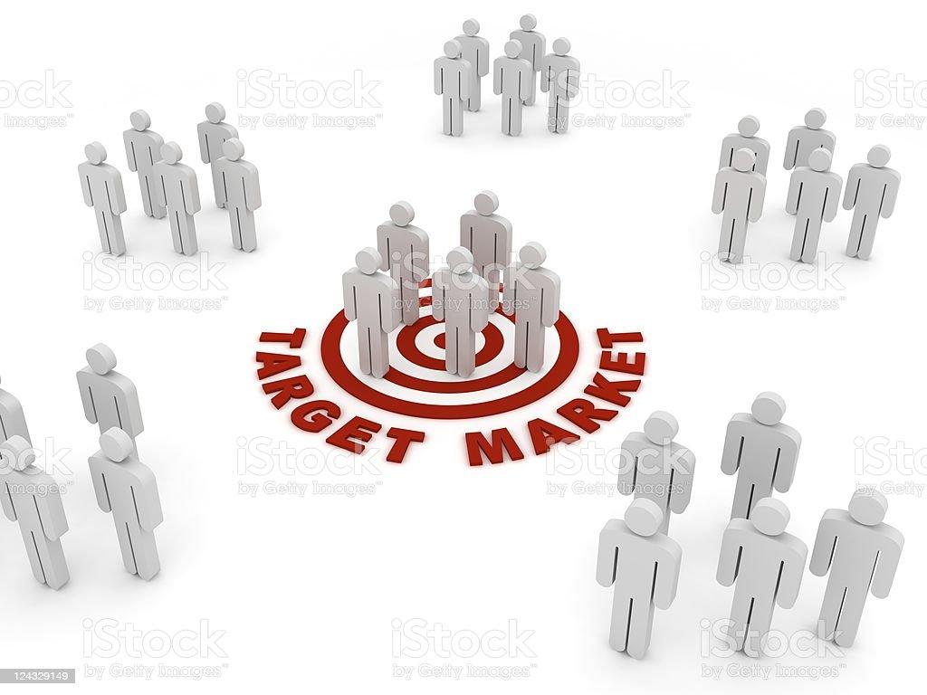 Target Market stock photo