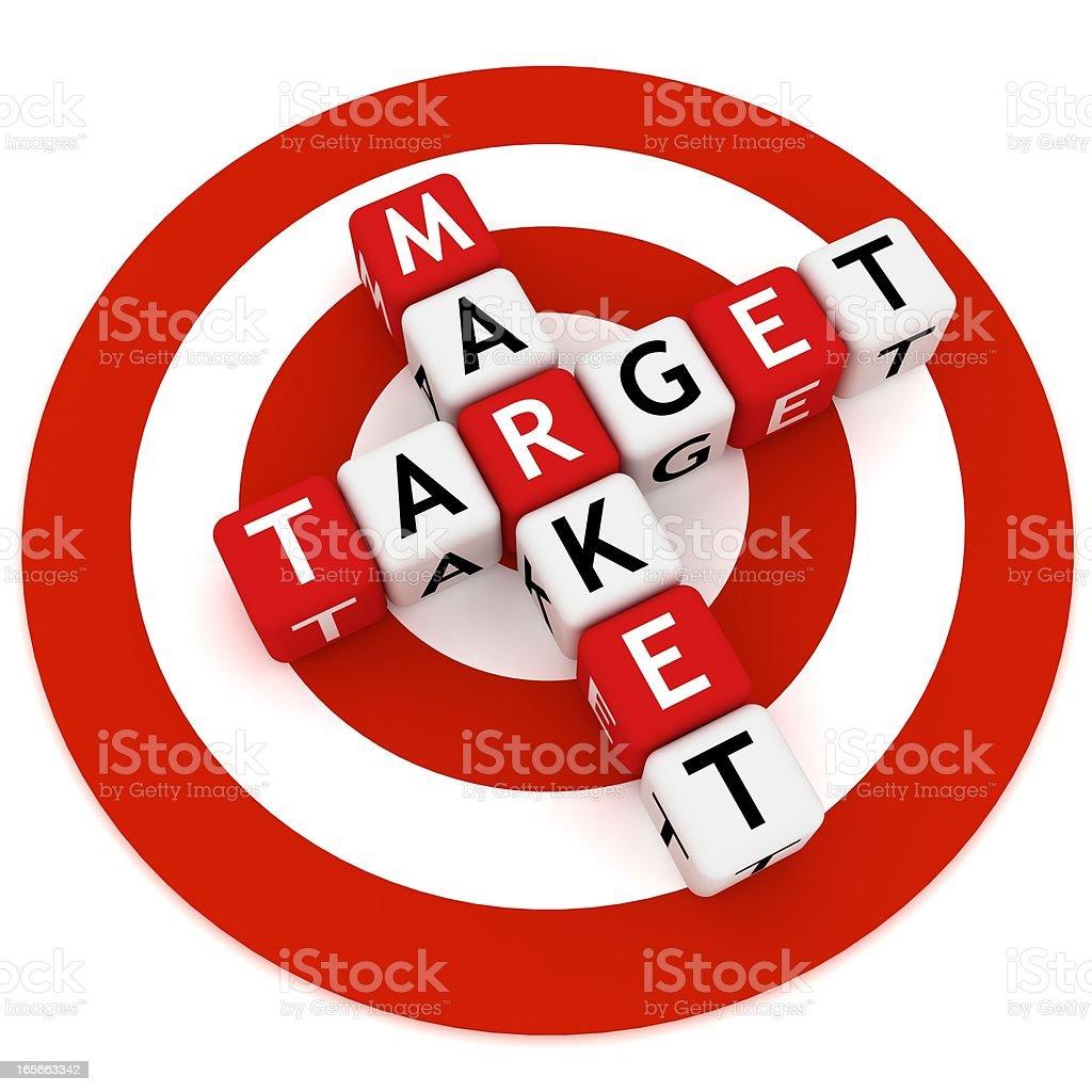 Target Market royalty-free stock photo