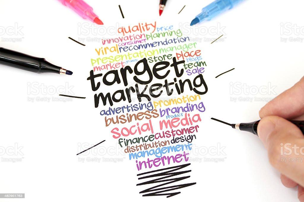 Target Marketing stock photo