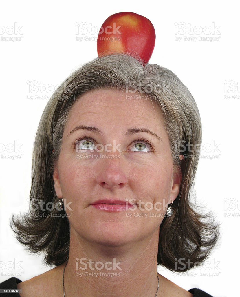 target on your head stock photo