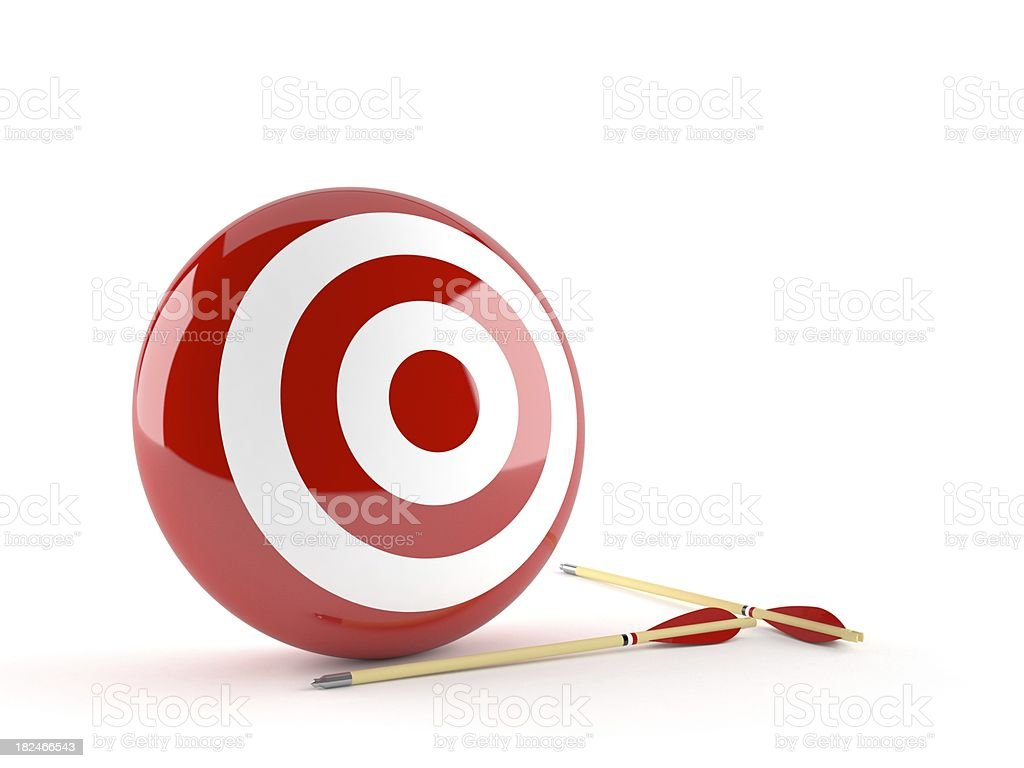 Target royalty-free stock photo