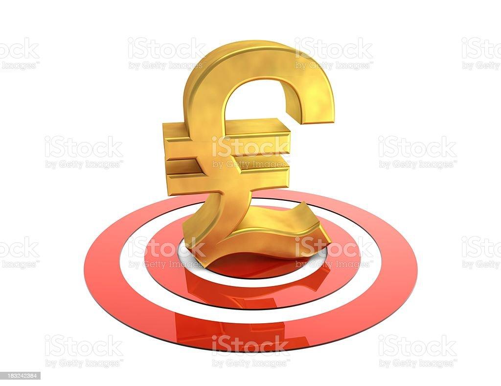 Target Pound stock photo