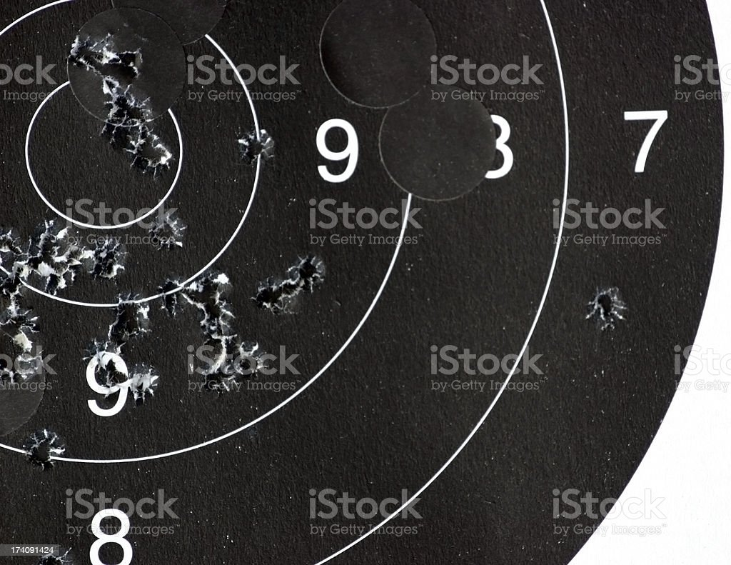 Target Practice royalty-free stock photo