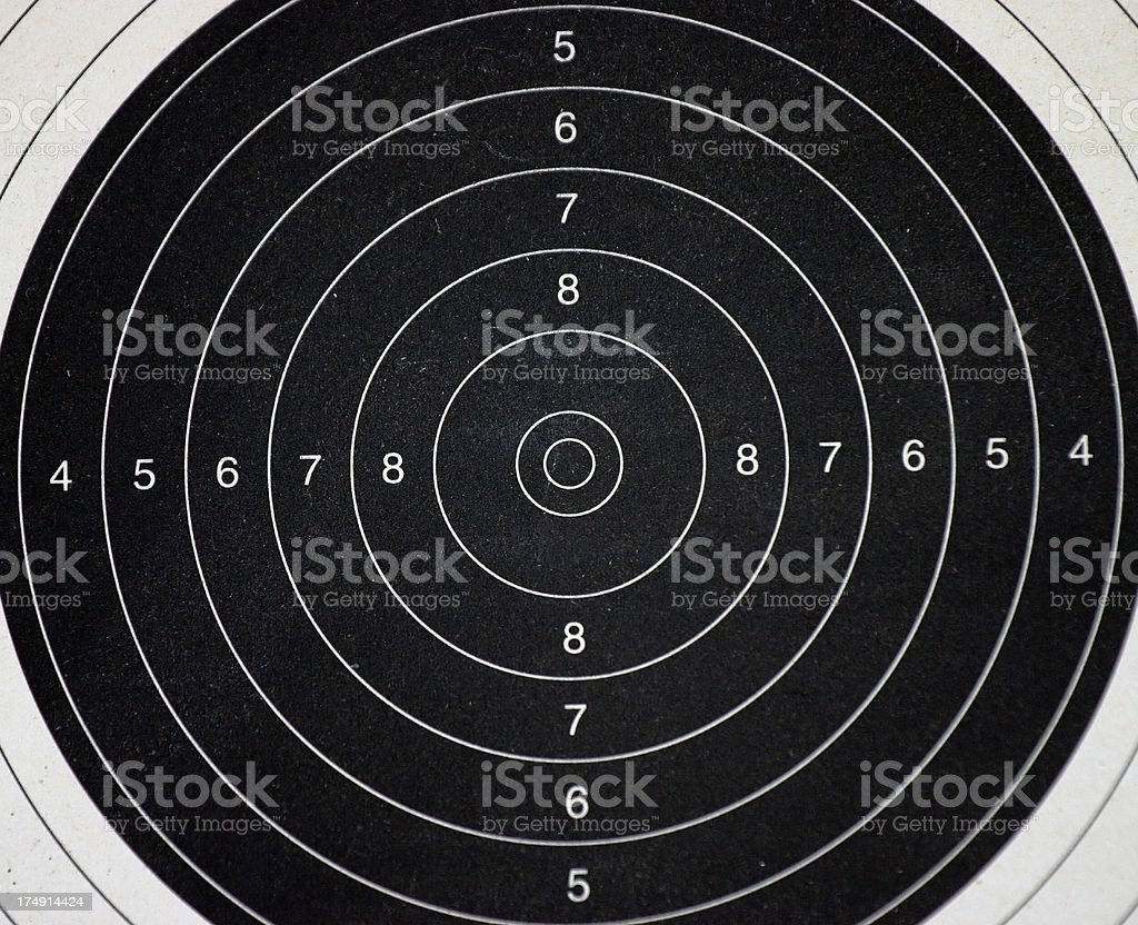 Target Practice #3 stock photo