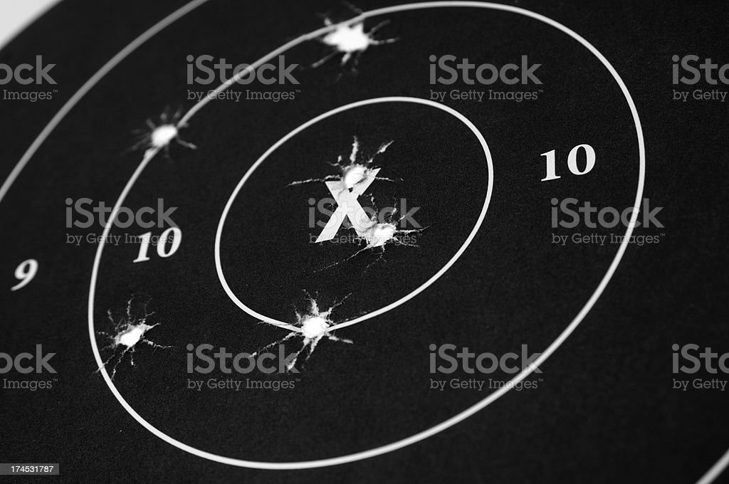Target Practice Series royalty-free stock photo