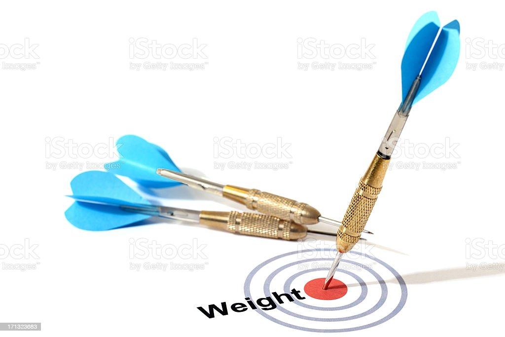 Target Weight stock photo