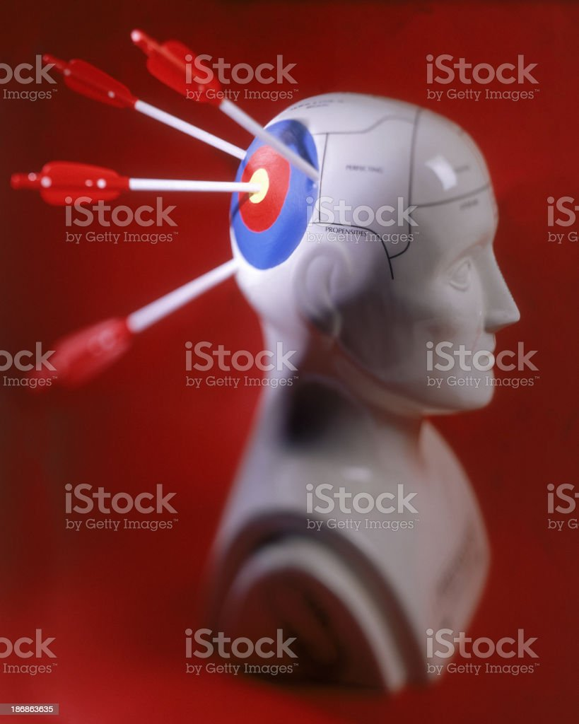 Targeting Treatment royalty-free stock photo