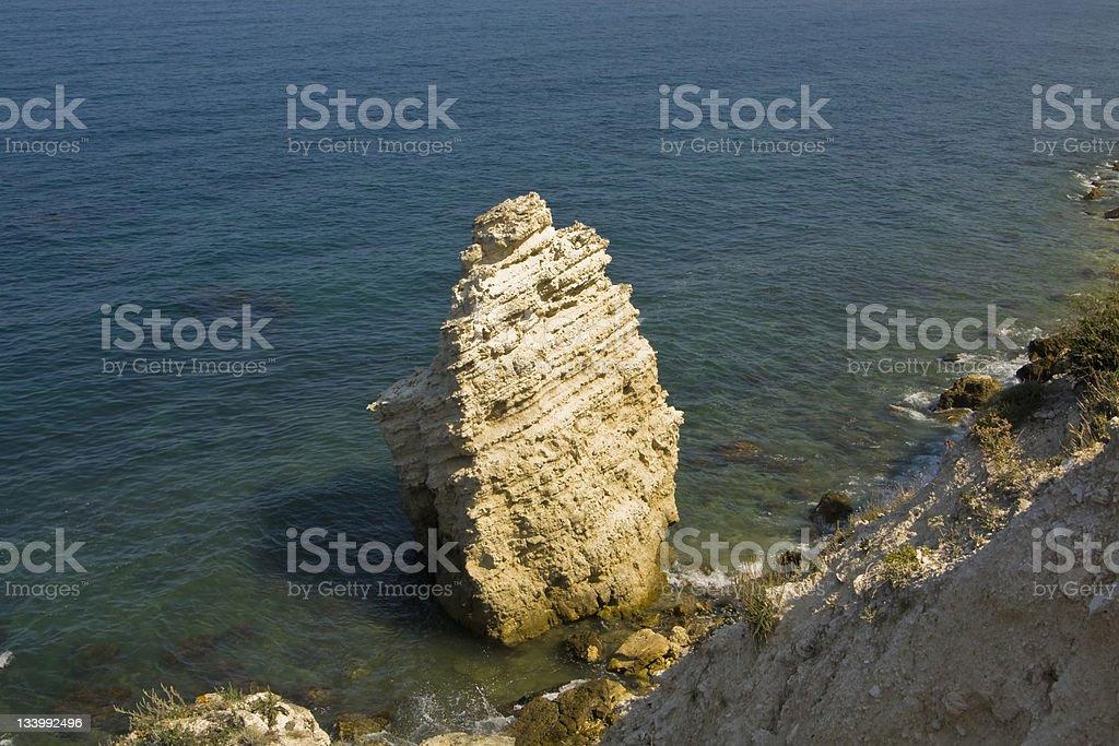 Tarhankut, Crimea stock photo