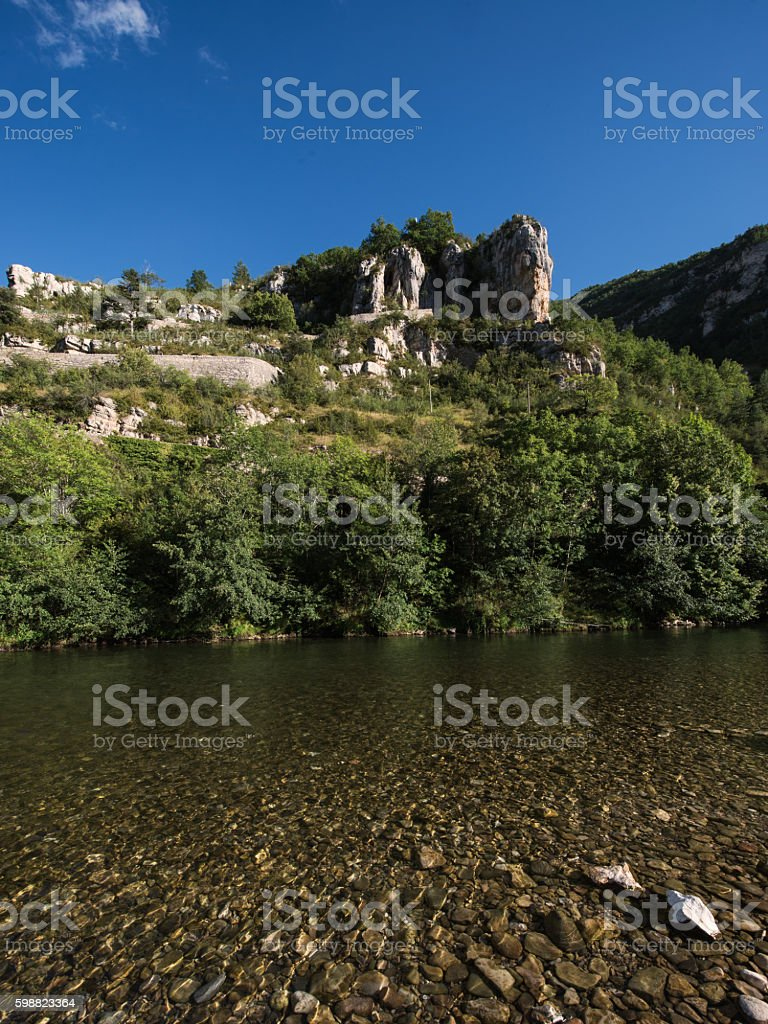 tarn stock photo