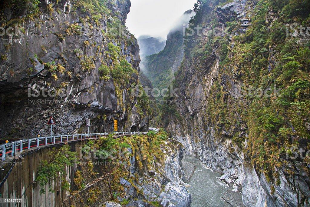 Taroko Gorge National Park stock photo