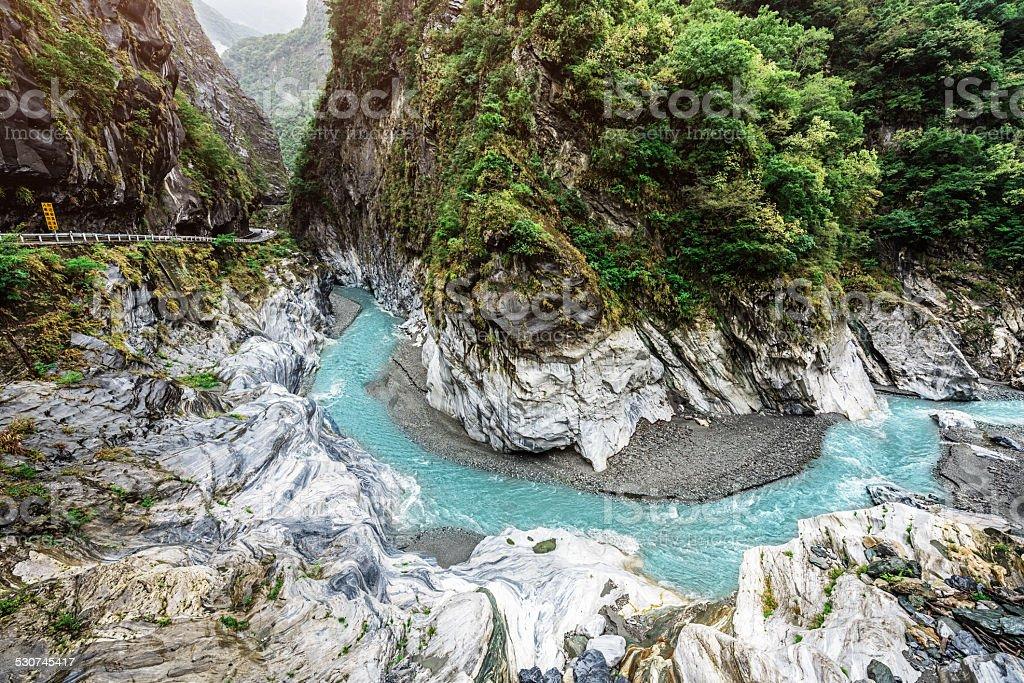 Taroko Gorge National Park Taiwan stock photo