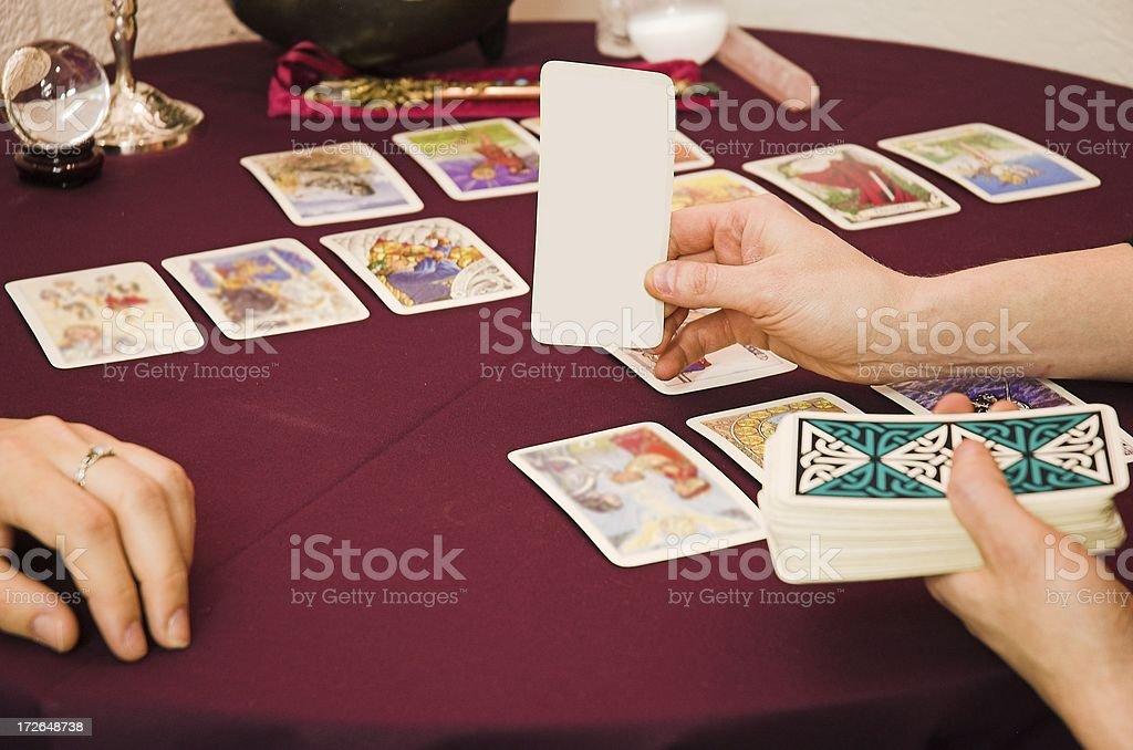 taror cards stock photo