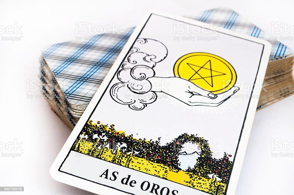 tarot card stock photo