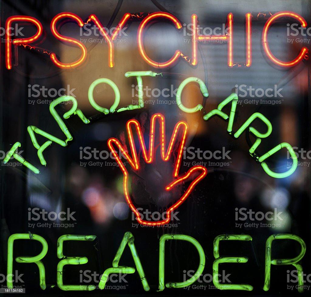 Tarot Card Reader. stock photo