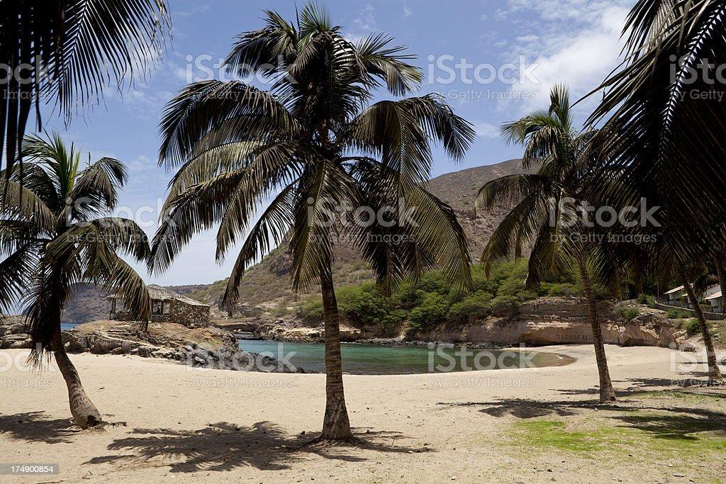 Tarrafal Beach stock photo