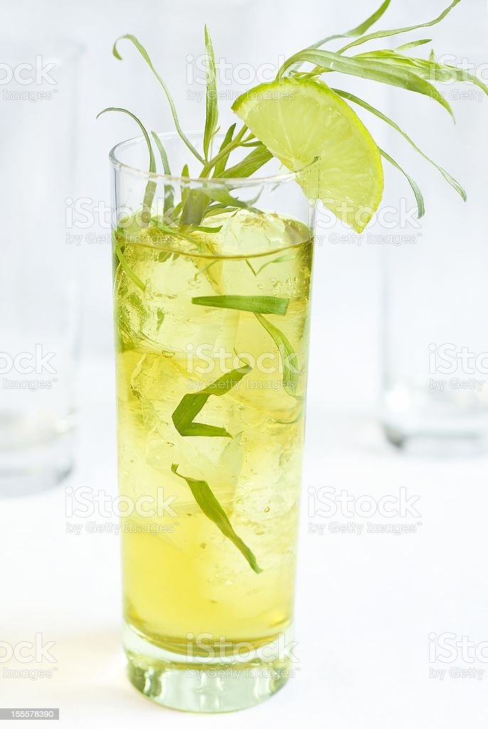 Tarragon lemonade royalty-free stock photo