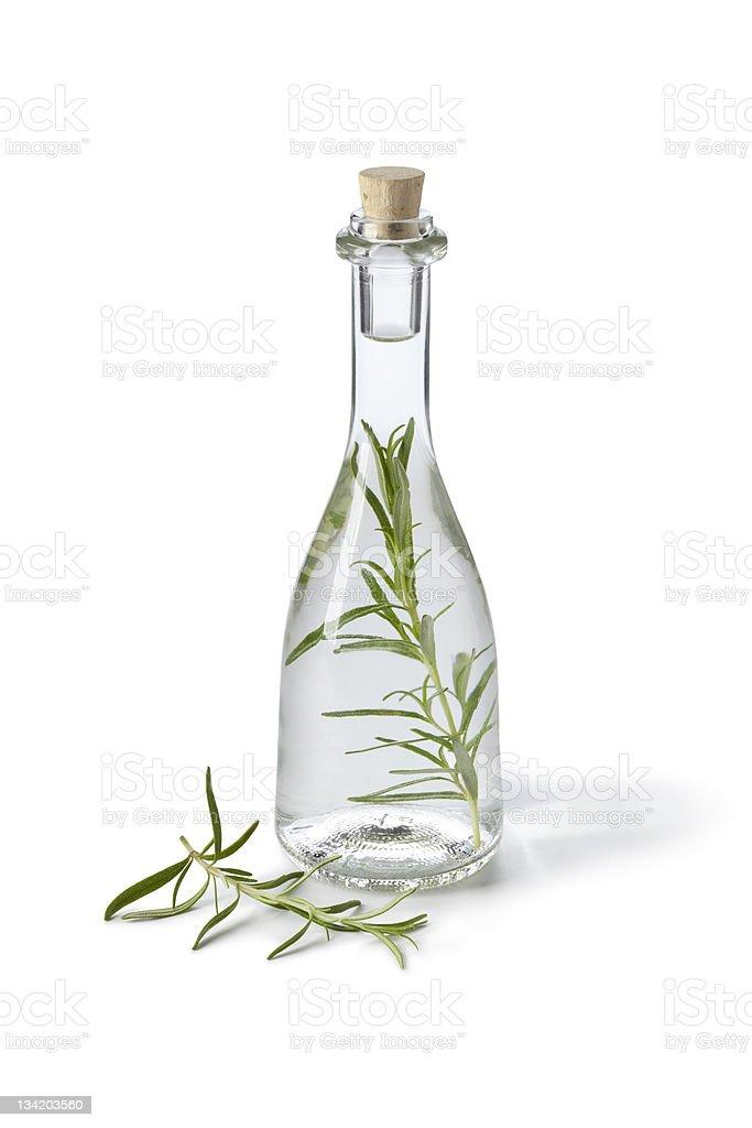 Tarragon vinegar stock photo