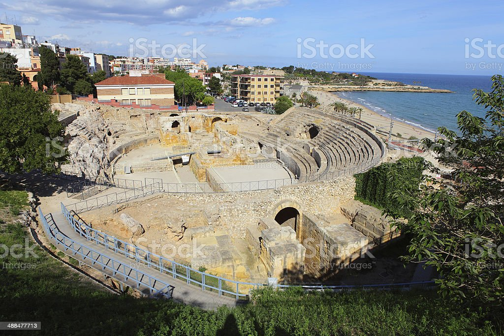 Tarragona Roman Circ stock photo